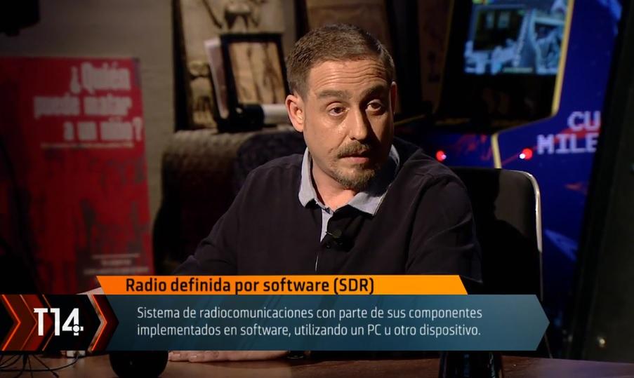 SDR en CUARTO MILENIO (Cuatro TV) – EA1URO.COM