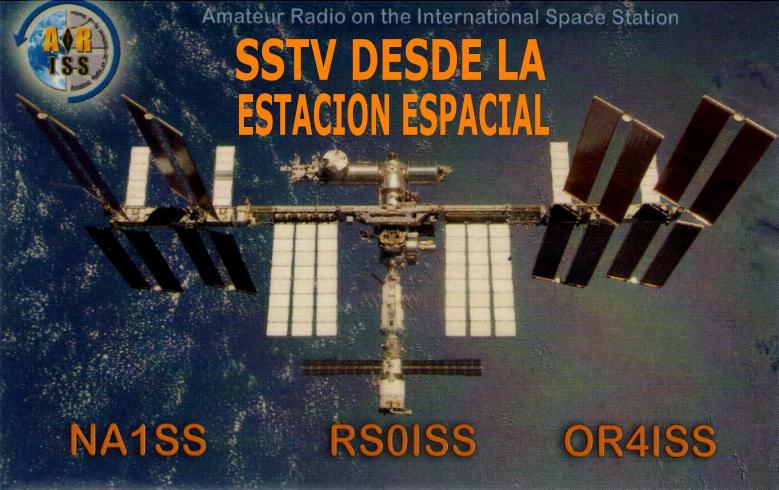 Viernes 15 F al Domingo 17 + SSTV desde la ISS – EA1URO COM